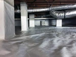 Crawlspace encapsulation services in Virginia